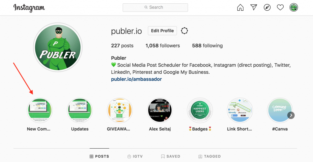 Highlighted Stories on Publer.