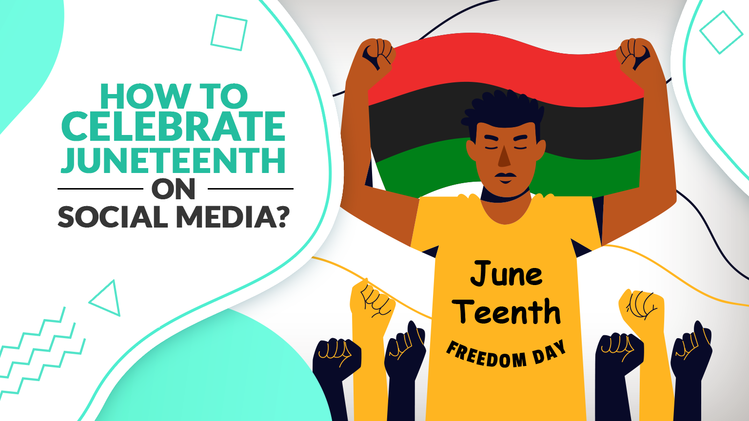 How to celebrate Juneteenth on Social Media - by Publer