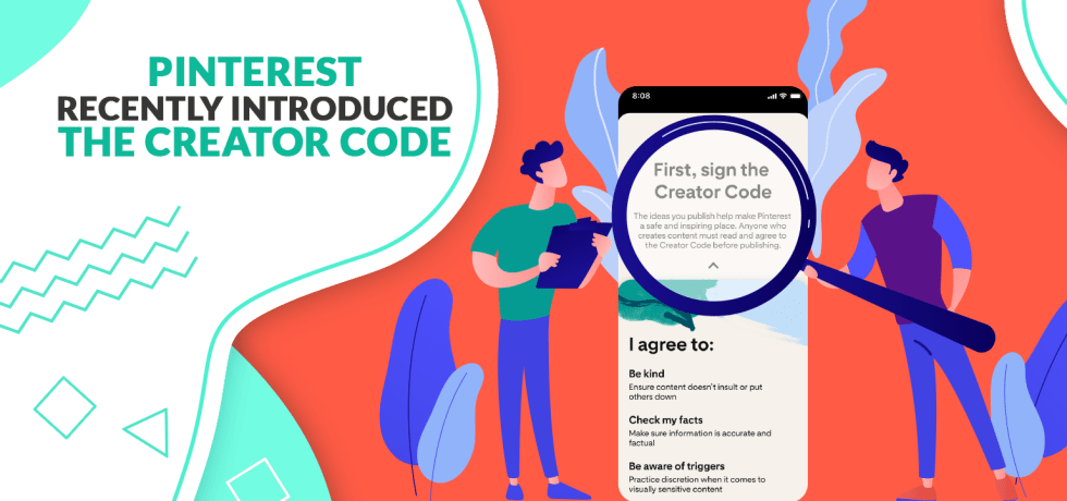 Pinterest recently introduced the Creator Code