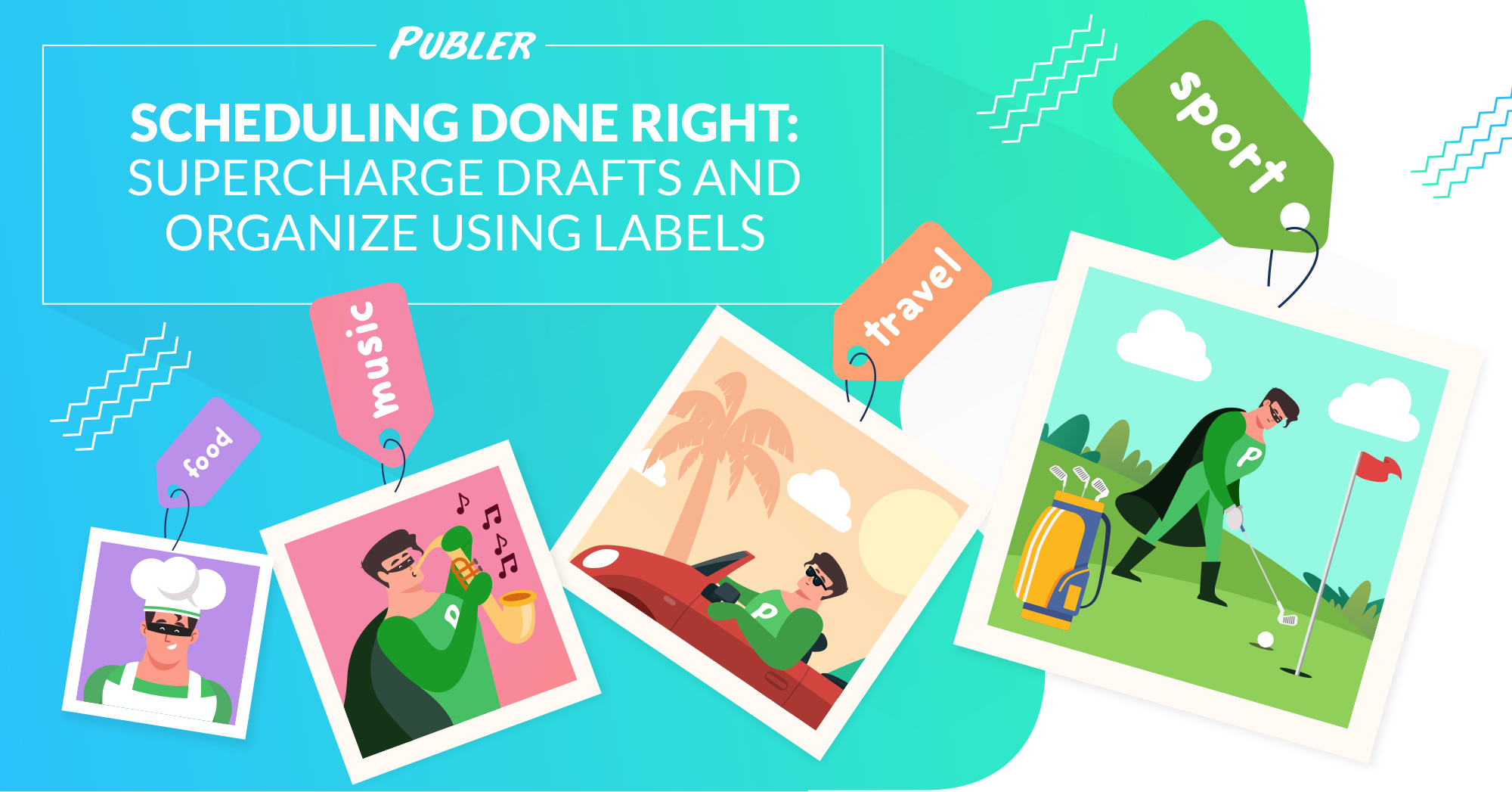 Scheduling Done Right Supercharge Drafts and Organize using Labels
